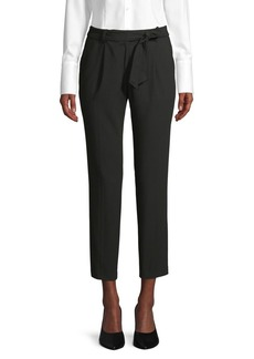 Calvin Klein Belted Stretch Pants