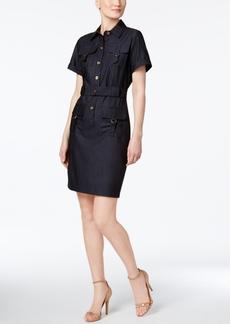Calvin Klein Belted Utility Shirtdress