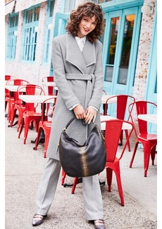 Calvin Klein Belted Wool Coat