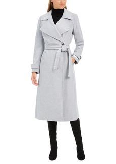Calvin Klein Belted Wrap Coat