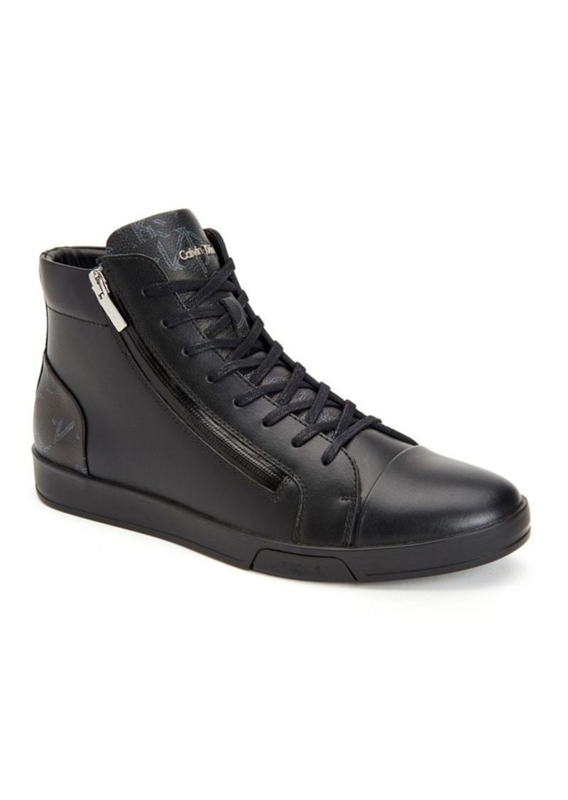 Klein Shoes High Berke Klein Top Calvin Leather Calvin Sneakers 8EwROq