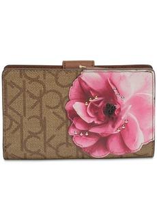 Calvin Klein Bifold Signature Floral Wallet