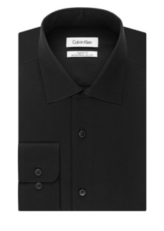 Calvin Klein Big-Fit Solid Dress Shirt
