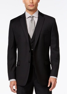 Calvin Klein Black Solid Modern Fit Jacket