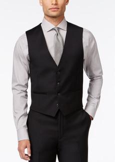 Closeout! Calvin Klein Black Solid Modern Fit Vest