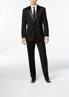 Calvin Klein Black Two-Button Modern-Fit Tuxedo