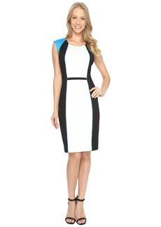 Calvin Klein Blocked Sheath Dress