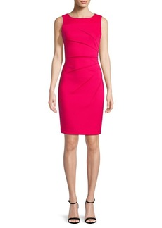 Calvin Klein Boatneck Sheath Dress