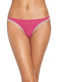 Calvin Klein 'Bottoms Up' Thong (3 for $30)