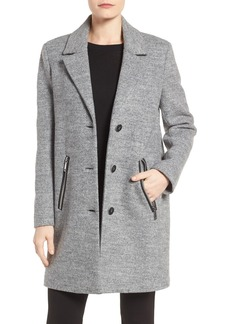 Calvin Klein Bouclé Walking Coat