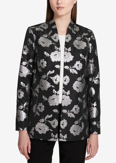 Calvin Klein Brocade Topper Jacket