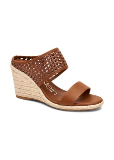 Calvin Klein Brooke Espadrille Wedge Sandal (Women)