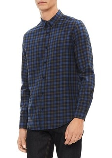 Calvin Klein Brushed Workwear Plaid Shirt
