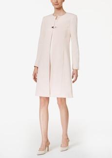 Calvin Klein Crosshatch Buckle-Trim Topper Jacket