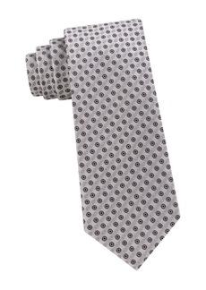 Calvin Klein Bullseye Printed Tie