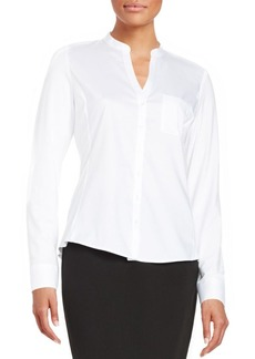 Calvin Klein Button-Down Blouse