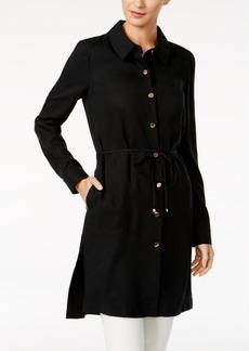 Calvin Klein Button-Front Topper Jacket
