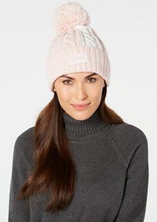 Calvin Klein Cable-Knit Beanie