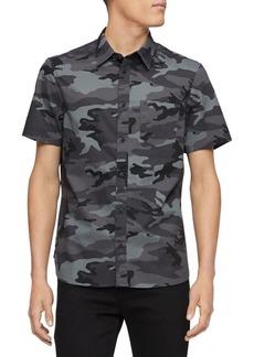 Calvin Klein Camouflage Slim-Fit Shirt