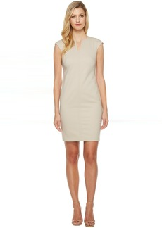 Calvin Klein Cap Sleeve Sheath Dress