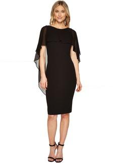 Calvin Klein Cape Sheath Dress CD7C22CJ