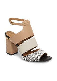 Calvin Klein Caran Block Heel Sandal (Women)