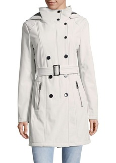 Calvin Klein Casual Belted Coat