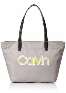 Calvin Klein Celia Nylon Organizational Small Tote