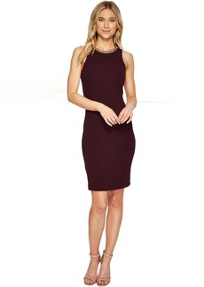 Calvin Klein Chain Detail Neck Sheath Dress CD7C11CH