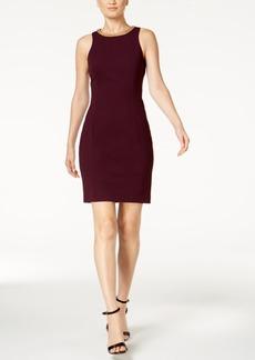 Calvin Klein Chain-Link Sheath Dress