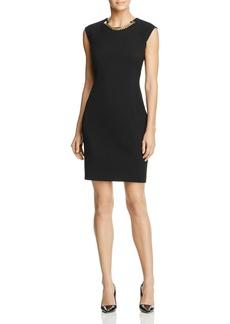 Calvin Klein Chain Sheath Dress