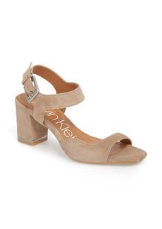 Calvin Klein Chantay Asymmetrical Sandal (Women)