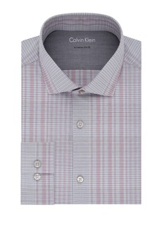 Calvin Klein Check Extra Slim-Fit Dress Shirt