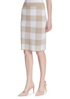 e1b909111f SALE! Calvin Klein Calvin Klein Faux-Suede Pencil Skirt