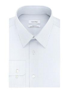 Calvin Klein Check Regular-Fit Dress Shirt