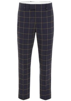 Calvin Klein Check Trousers With Side Band