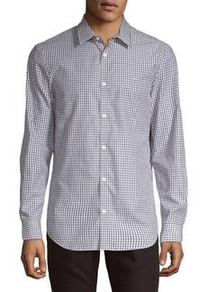 Calvin Klein Checkered Classic-Fit Shirt