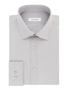 Calvin Klein Checkered Regular-Fit Dress Shirt