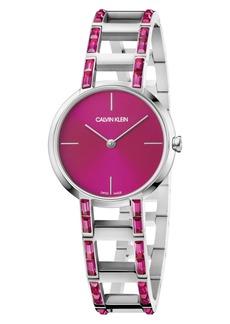 Calvin Klein Cheers Swarovski Bracelet Watch, 32mm
