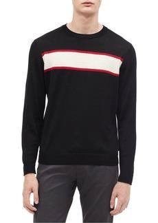 Calvin Klein Chest Striped Sweater