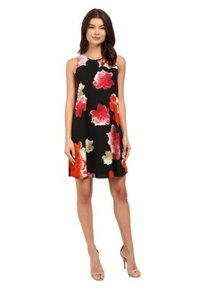 Calvin Klein Chiffon Floral Dress CD6EVC2R