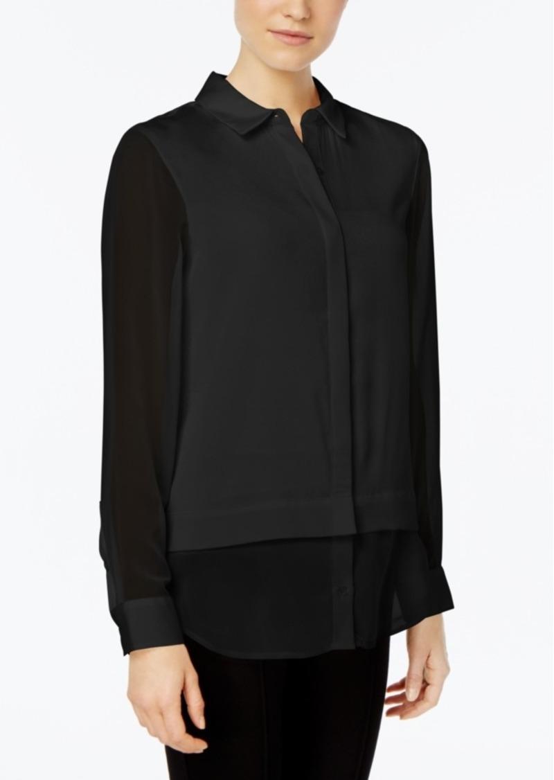 Calvin Klein Chiffon Shirt