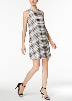 Calvin Klein Chiffon Trapeze Dress