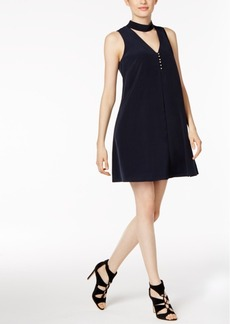 Calvin Klein Choker-Collar Shift Dress