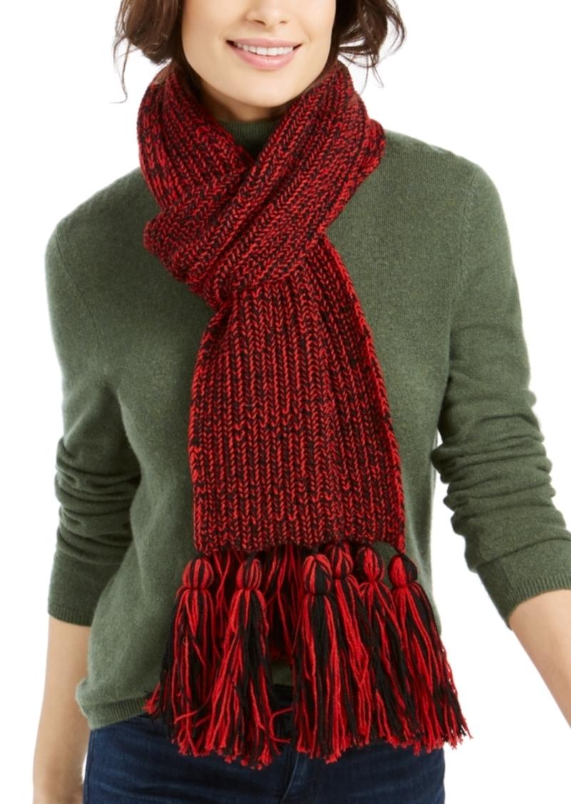 Calvin Klein Chunky Knit Marled Scarf