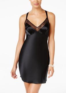 Calvin Klein Ck Collection Black Daring Silk Chemise QS5552