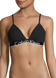 Calvin Klein CK ID Logo Triangle Bralette