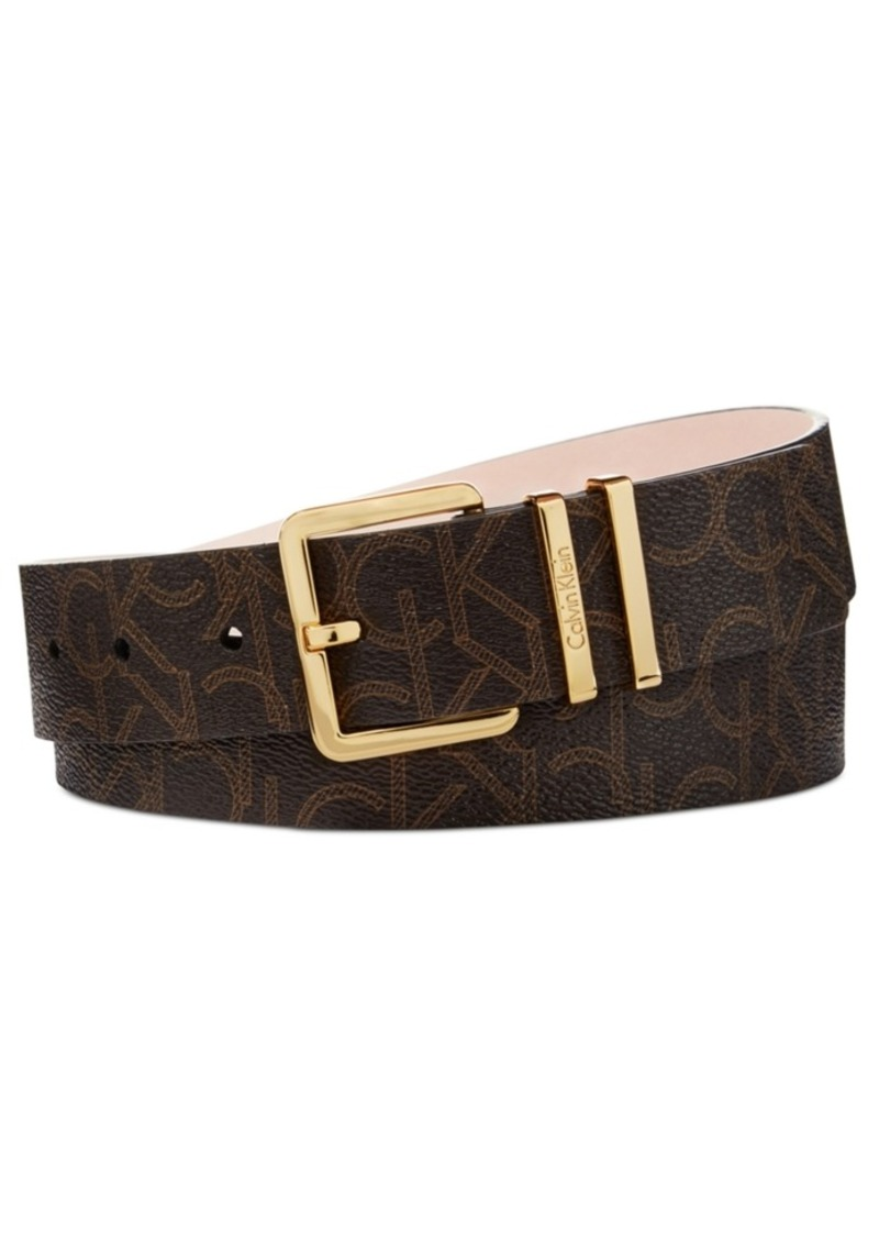 On Sale today! Calvin Klein Calvin Klein Signature Belt 2a6bd296f03