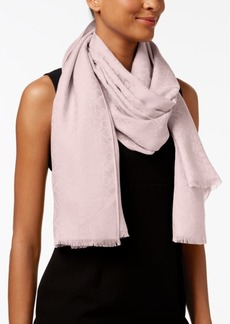 Calvin Klein Ck Logo Wrap & Scarf in One