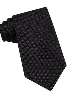 Calvin Klein Classic Fit Micro Dot Textured Silk Tie